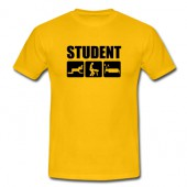 Geel Student T-Shirts